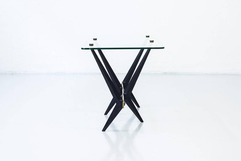 Italian 1950s Coffee Table by Angelo Ostuni In Good Condition For Sale In Stockholm, SE