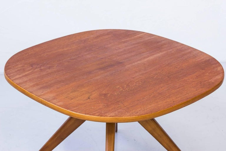 Mid-Century Modern Teak Coffee Table by NK in Sweden For Sale at 1stdibs