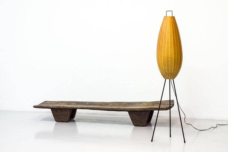 Mid-Century Modern Cocoon Floor Lamp in Sprayed Plastic ...