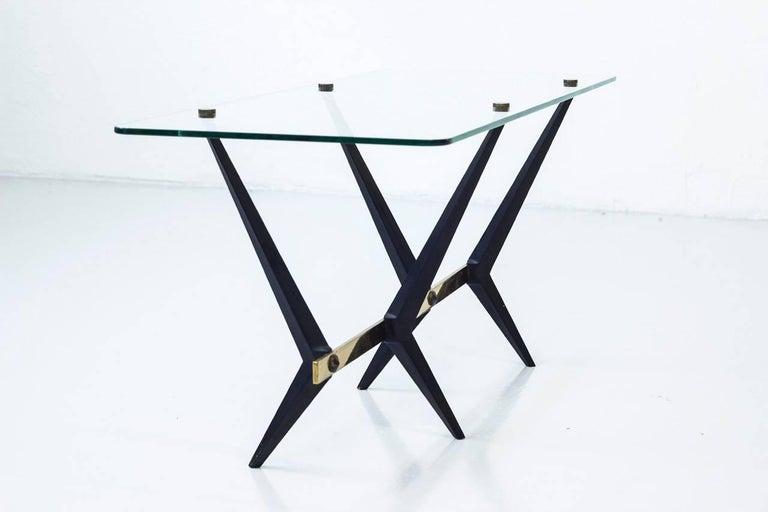 Mid-Century Modern Italian 1950s Coffee Table by Angelo Ostuni For Sale