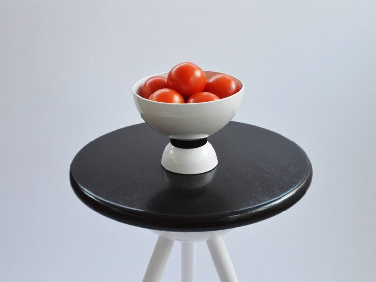 Space Age Contemporary Huygens Bowl by Connor Holland in Powder-Coated Steel For Sale