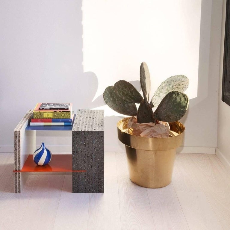 British Marfa Coffee Table Small made in 100% Recycled Plastic For Sale