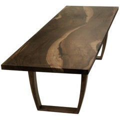 Contemporary English Walnut Dining Table