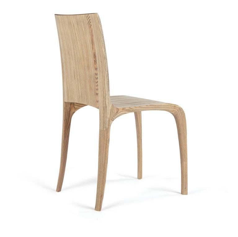 Rippled Ash Chair by Jonathan Field 2