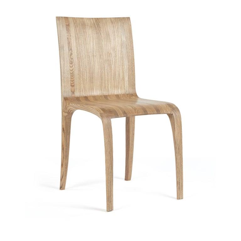 Rippled Ash Chair by Jonathan Field 4