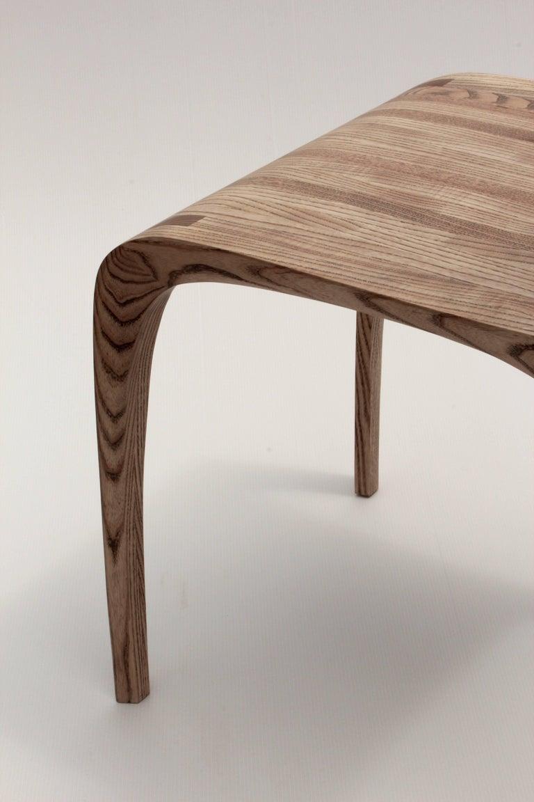 Rippled Ash Chair by Jonathan Field 6