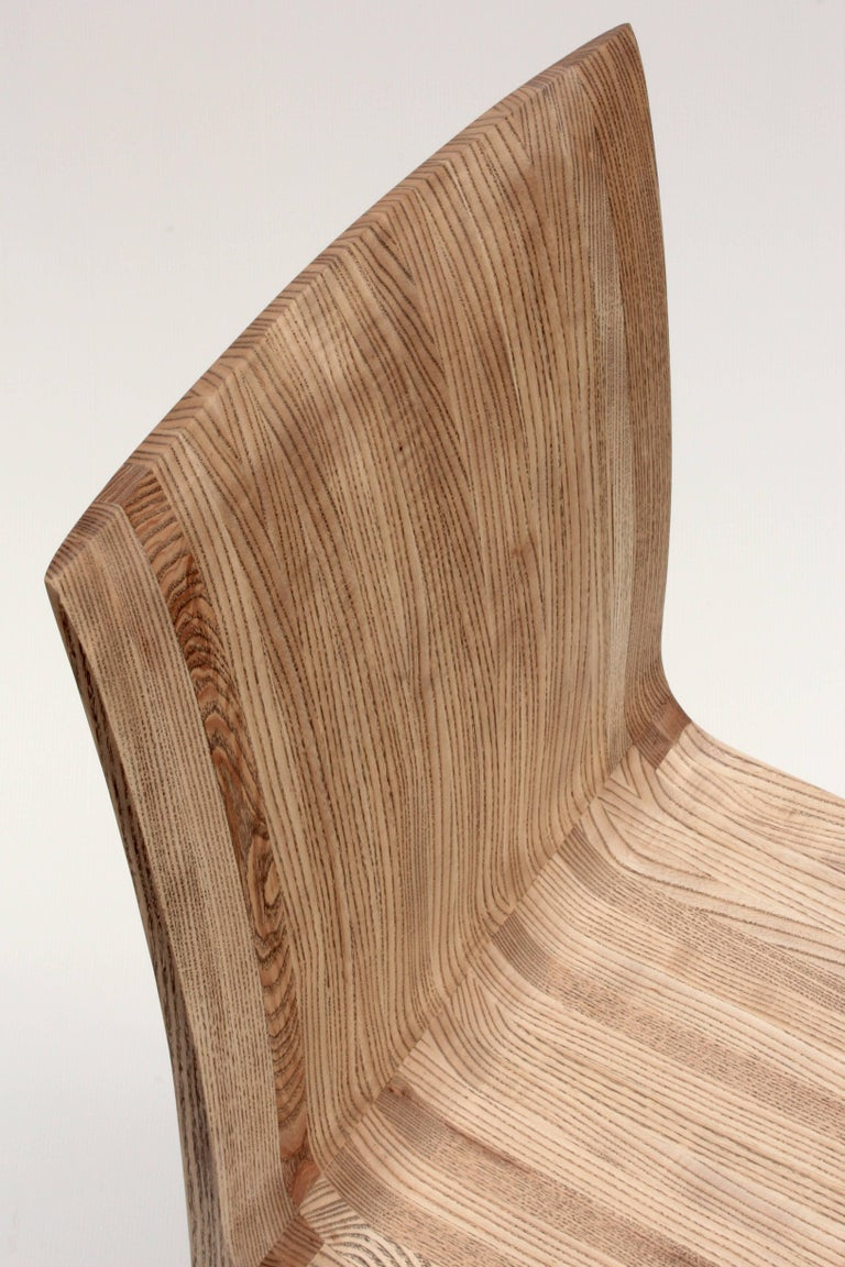 Rippled Ash Chair by Jonathan Field 7