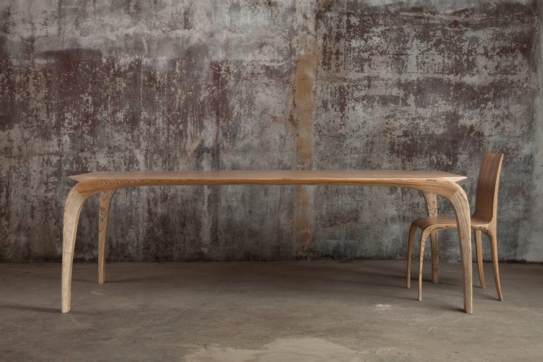 Rippled Ash Chair by Jonathan Field 3