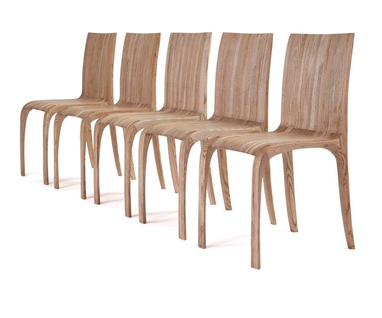 Rippled Ash Chair by Jonathan Field 9