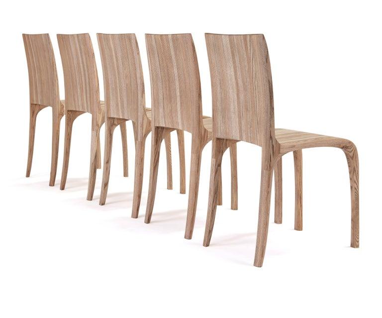 Rippled Ash Chair by Jonathan Field 10
