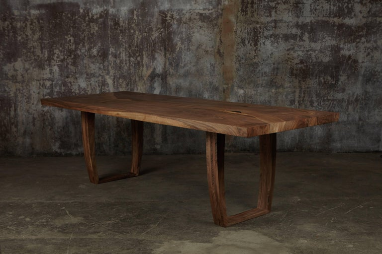 Ripple english walnut dining table for sale at 1stdibs for 10 ft dining table sale