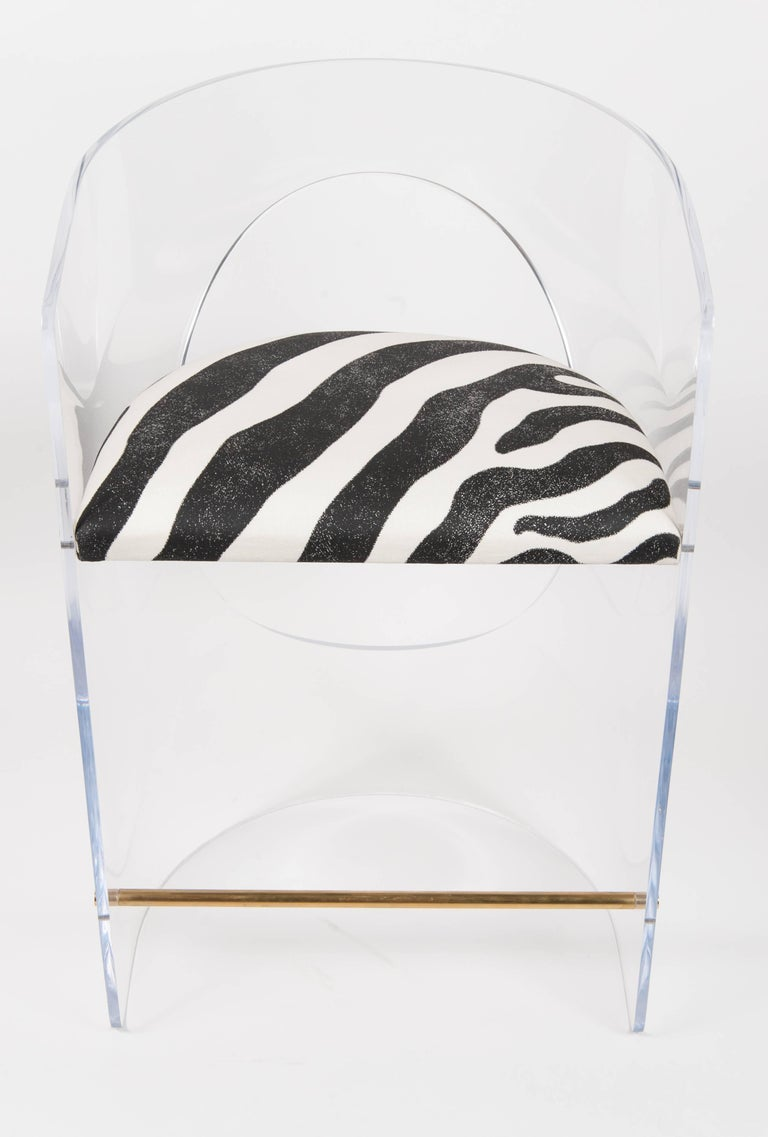 Boulles Acrylic Barstools For Sale At 1stdibs