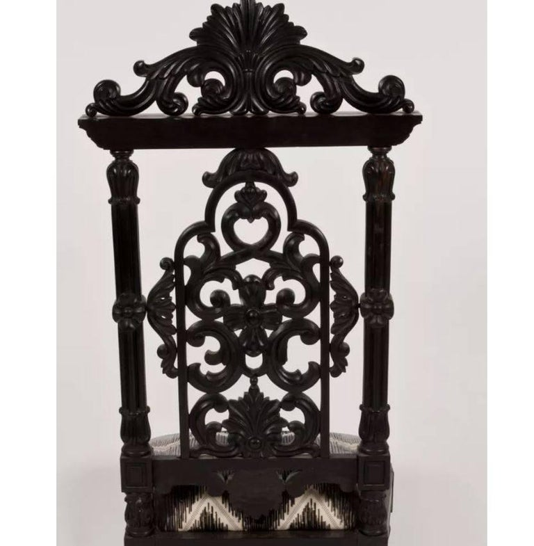 Martyn Lawrence Bullard's custom Alexandria chair.