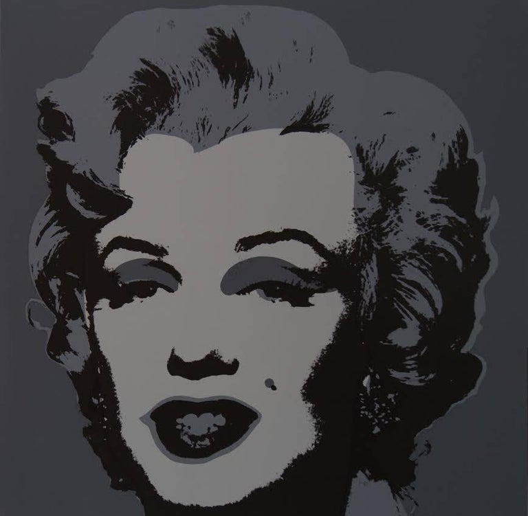 "Modern Andy Warhol ""Marilyn Monroe"" Silkscreen Print  For Sale"
