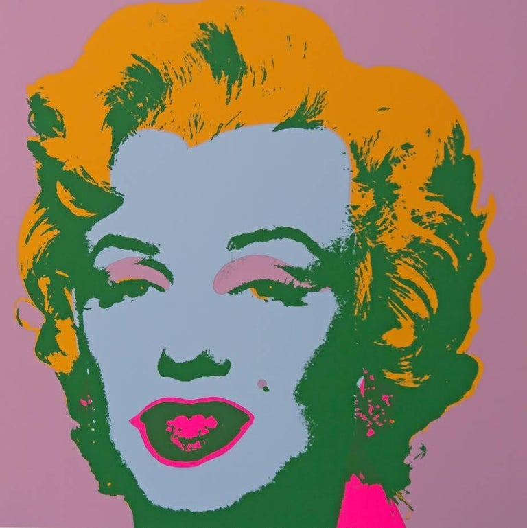 "Andy Warhol ""Marilyn Monroe"" Silkscreen Print  For Sale 1"