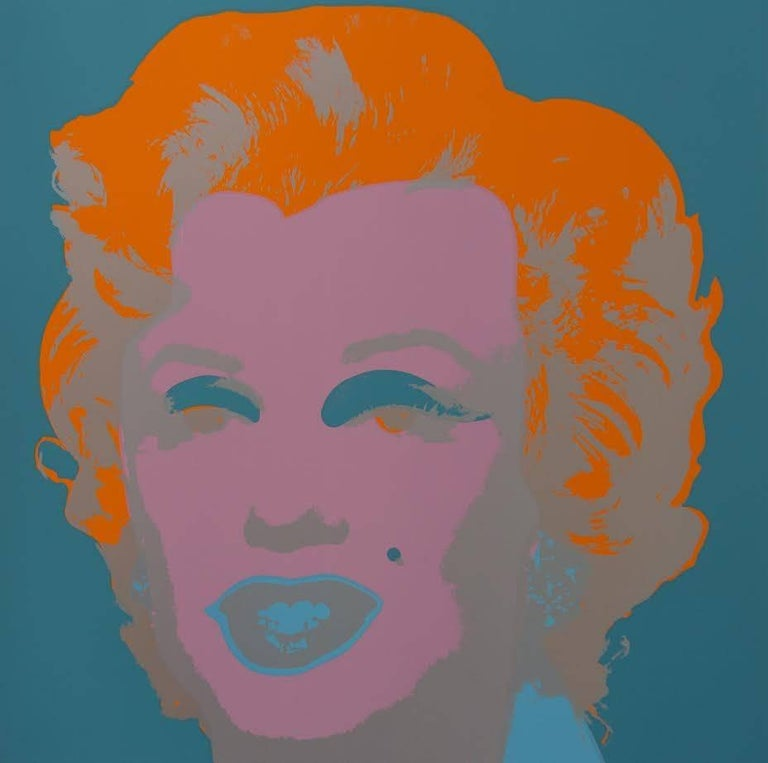 "Andy Warhol ""Marilyn Monroe"" Silkscreen Print  For Sale 2"