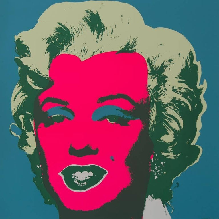 "Andy Warhol ""Marilyn Monroe"" Silkscreen Print  For Sale 3"