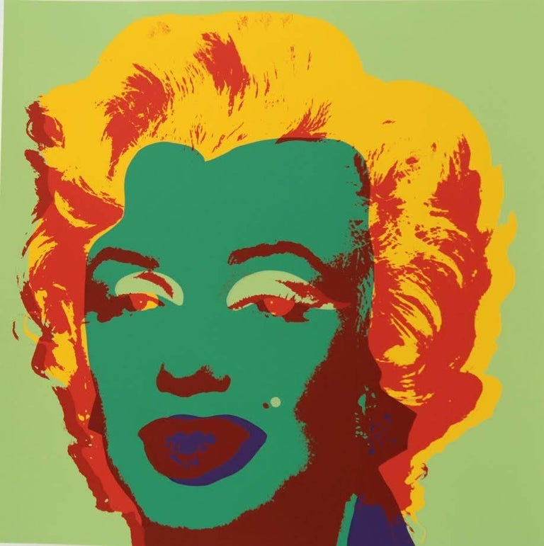 "American Andy Warhol ""Marilyn Monroe"" Silkscreen Print  For Sale"