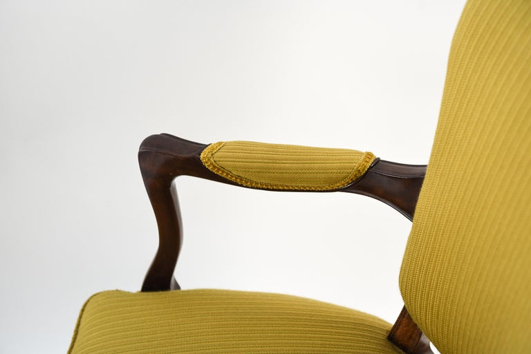 Mahogany Frits Henningsen Suite Including a Sofa, Armchairs and Saloon Table For Sale