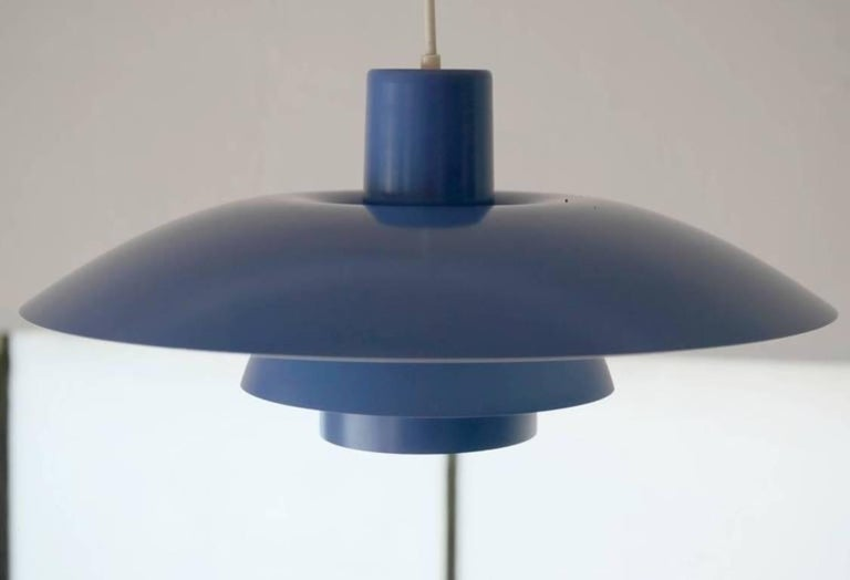 Mid-Century Modern Danish PH 4/3 Pendant Light by Poul Henningsen