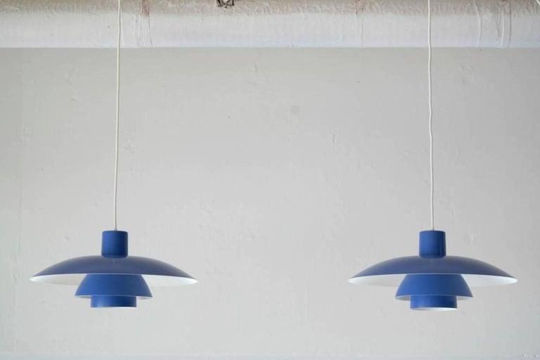 Aluminum Danish PH 4/3 Pendant Light by Poul Henningsen
