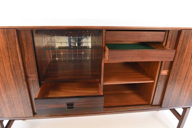 20th Century Arne Vodder Rosewood Sideboard For Sale