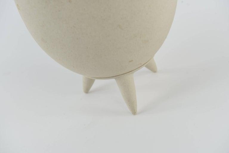 Lineasette Italian Ceramic Chicken Vase For Sale 1