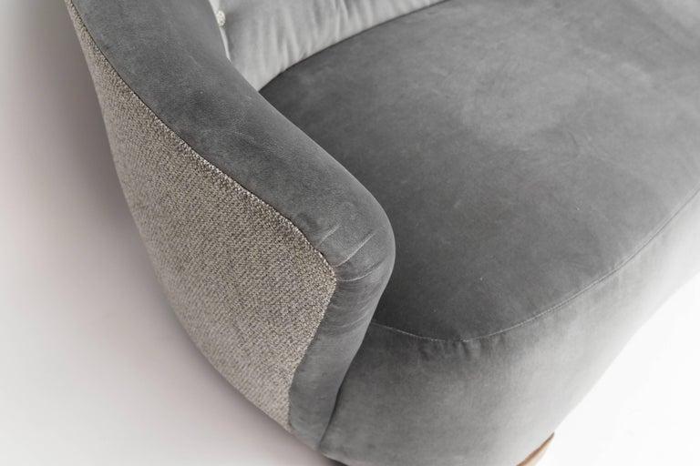 Danish 1940s Art Deco Banana Sofa For Sale 2
