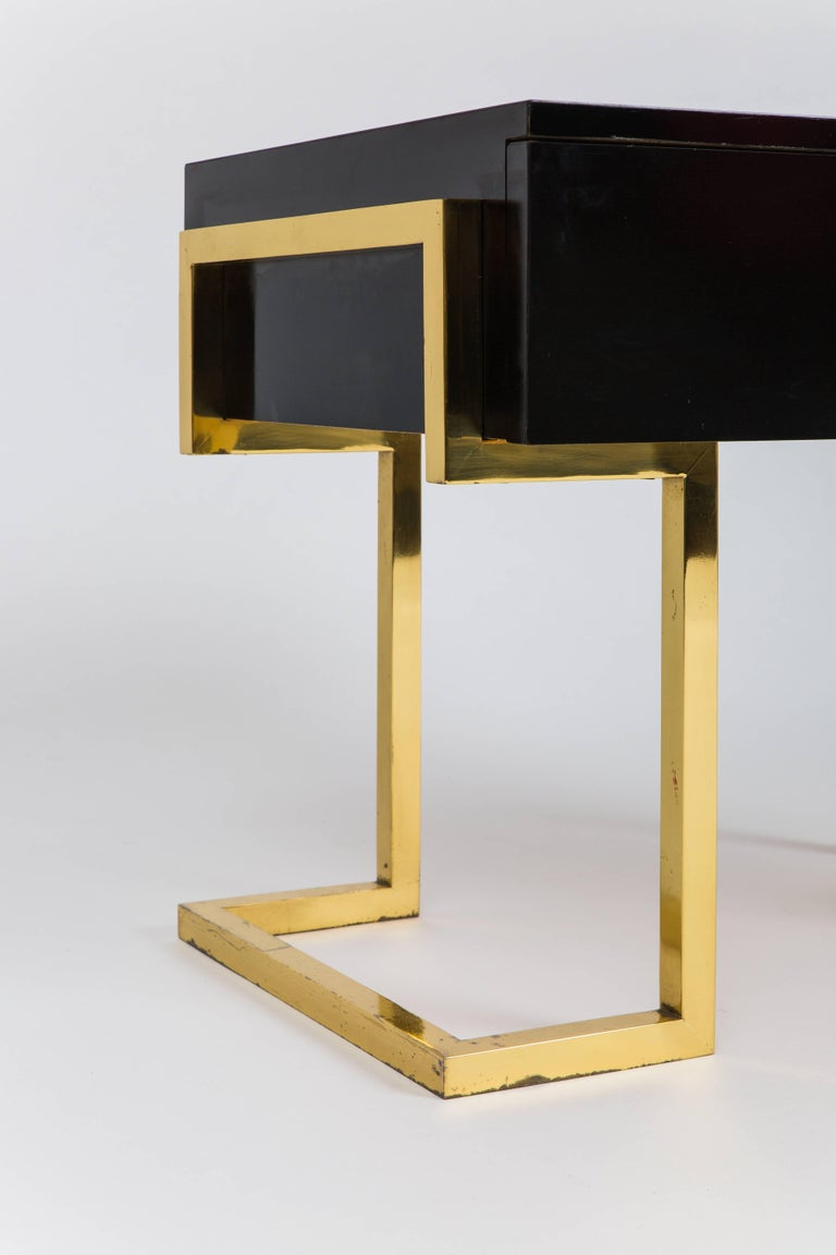 Late 20th Century Romeo Rega Pair of Sculptural Bedside or End Tables, Italy, 1970s For Sale