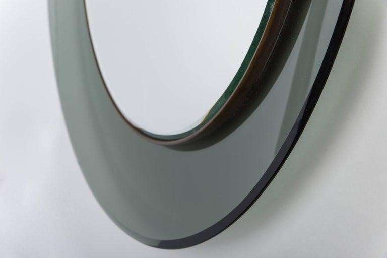 Mid-Century Modern Fontana Arte Mirror Model 1699