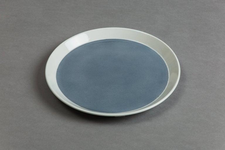 Gio Ponti for Ceramica Franco Pozzi Set of Four Ceramic Plates, Italy circa 1967 5