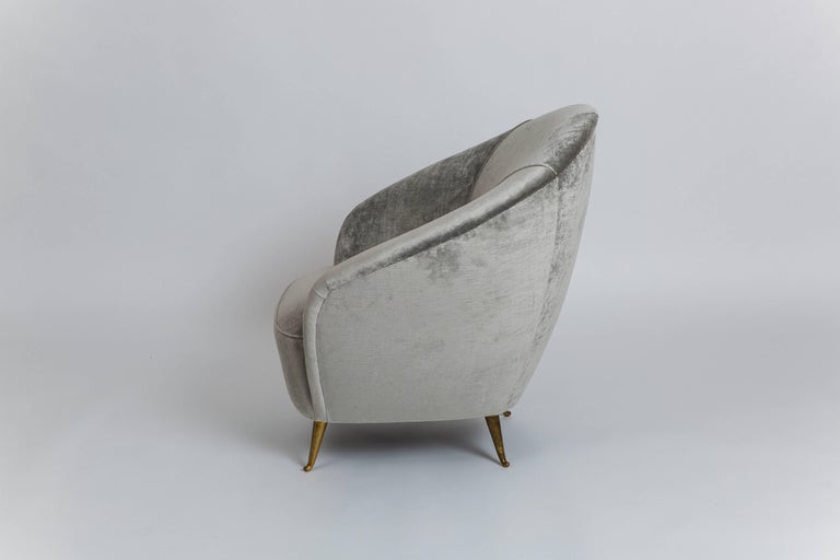 Mid-Century Modern Gio Ponti Rare Armchair For Sale