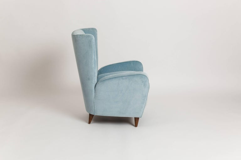 Italian Paolo Buffa Pair of Armchairs from the Hotel Bristol, Merano For Sale