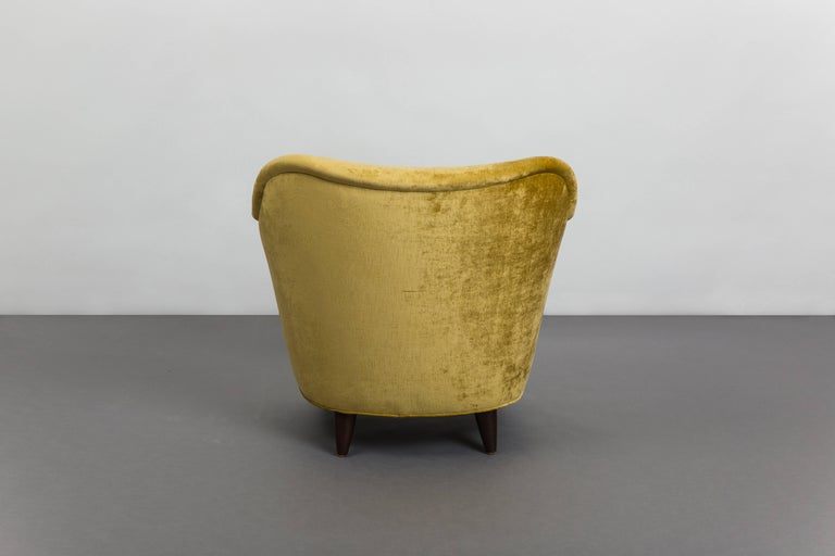 Mid-20th Century Gio Ponti for Casa E Giardino Pair of Armchairs, Italy, circa 1938 For Sale