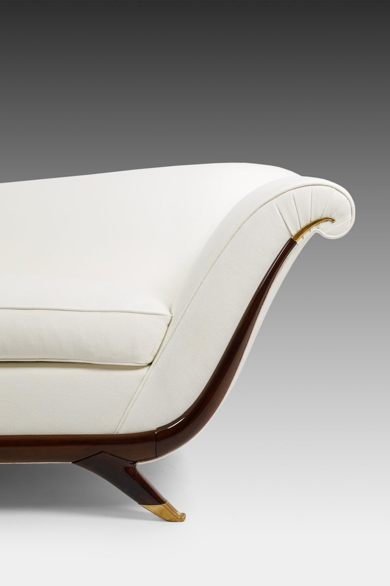 Italian Large Sofa Attributed to Guglielmo Ulrich For Sale