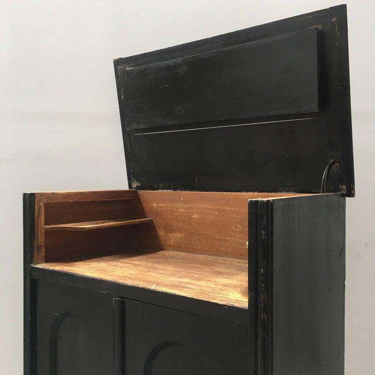 Black Antique European Dry Bar Cabinet At 1stdibs