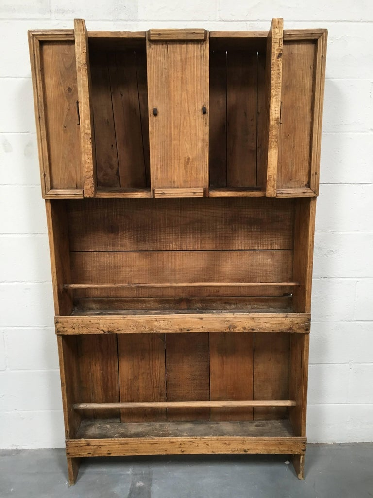 Wooden Furniture Hardware ~ Antique french wooden cabinet with iron hardware for sale