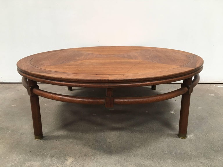 Midcentury Coffee Table Made In Usa Stamped