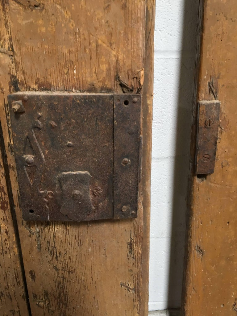 20th Century Pair of Antique European Farm Doors For Sale