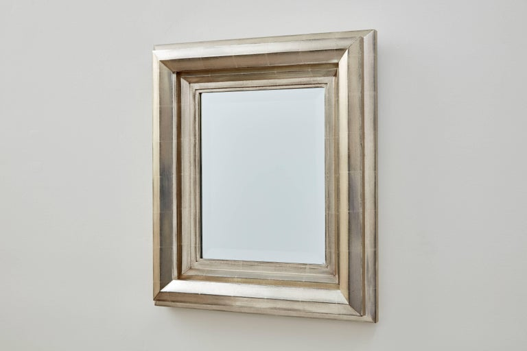 The Degas no. 3 mirror by Bark Frameworks is based on a design by Impressionist painter Edgar Degas (1834-1917), from his notebooks of 1878-79. The polymath of the Impressionists, Degas drew frame profiles throughout his career. His designs diverged