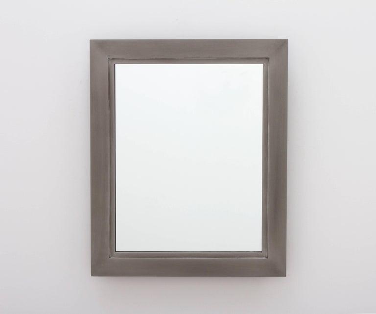 Bark Frameworks Lumina Wall Mirror, Aluminium with Patina Finish 2