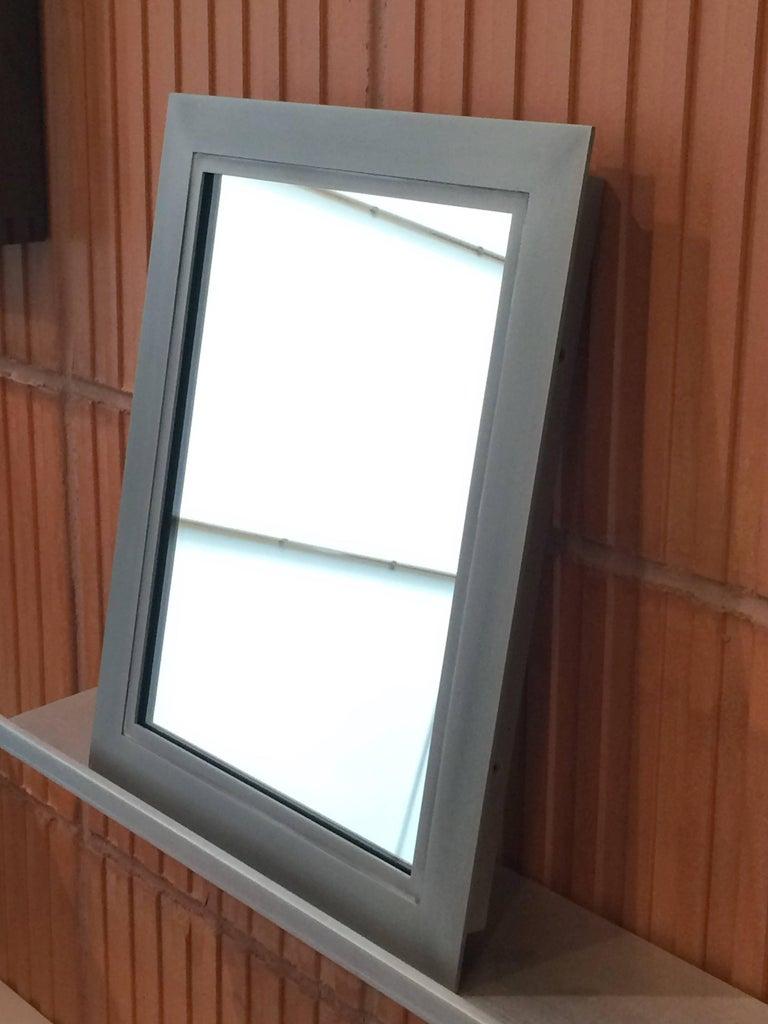 Bark Frameworks Lumina Wall Mirror, Aluminium with Patina Finish 5
