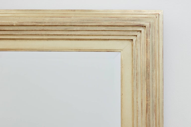 Modern Degas No. 1 Contemporary Wall Mirror, Gilded in 16kt Gold, by Bark Frameworks For Sale