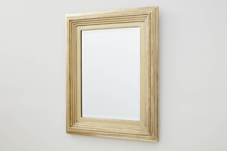 Degas No. 1 Contemporary Wall Mirror, Gilded in 16kt Gold, by Bark Frameworks 2