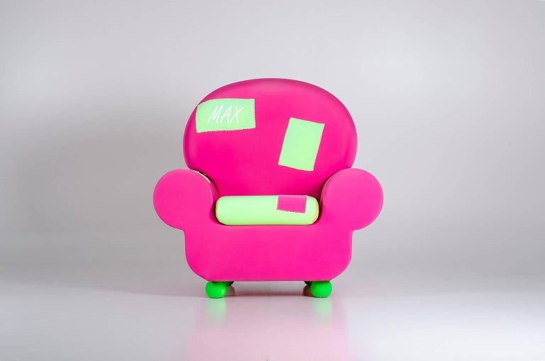 "Armchair ""Papi' Colors"" the Most Customizable Armchair Even with Your Name 5"