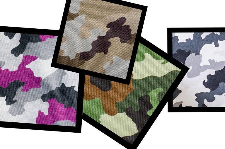 "Armchair ""Armychair Col"" Handcrafted Polyurethane Foam Camo Desert 4"