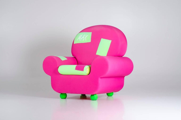 "Armchair ""Papi' Colors"" the Most Customizable Armchair Even with Your Name 6"