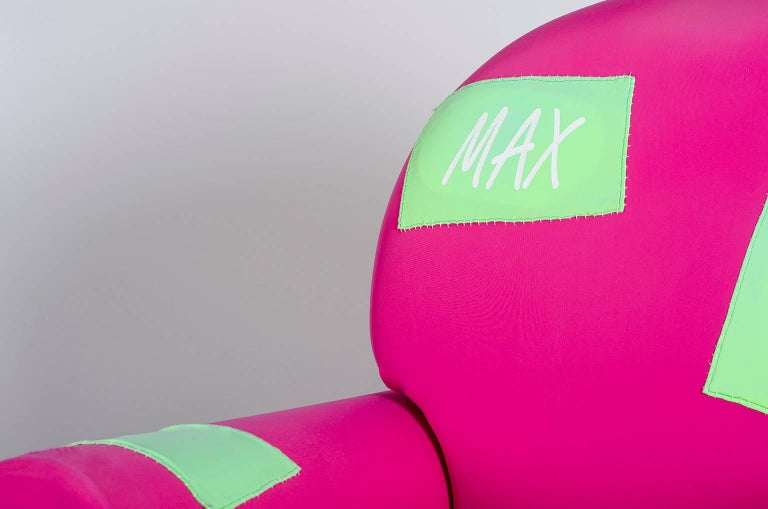 "Armchair ""Papi' Colors"" the Most Customizable Armchair Even with Your Name 7"
