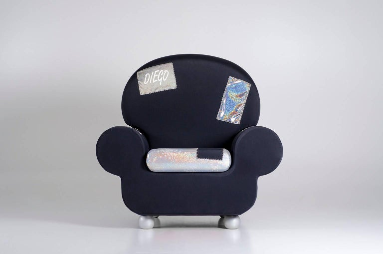 "Armchair ""Papi' Colors"" the Most Customizable Armchair Even with Your Name 2"