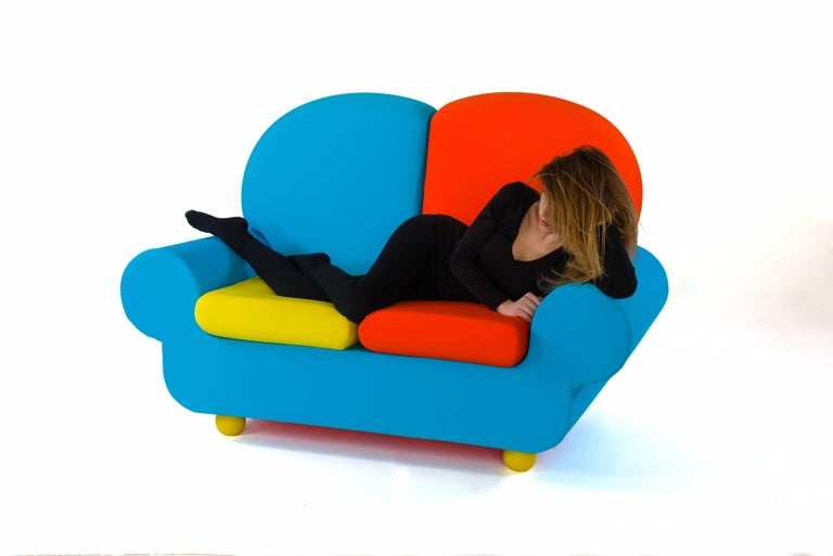 "Sofa Two Seats ""Papi Colors"" the Most Customizable Sofa 4"